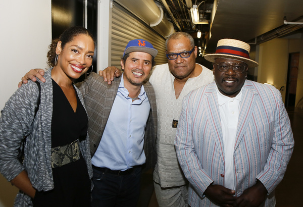 Gina Torres, John Leguizamo, Laurence Fishburne and Cedric the Entertainer