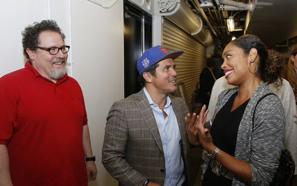 Jon Favreau, John Leguizamo and Gina Torres Photo