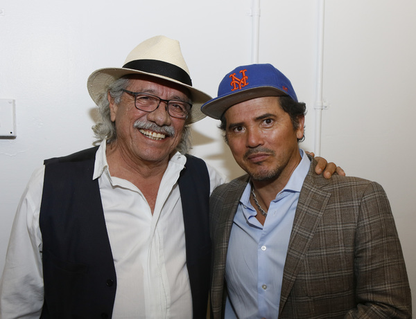 Edward James Olmos and John Leguizamo Photo