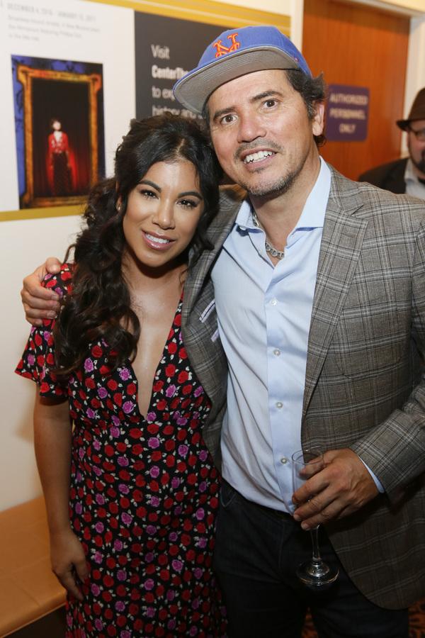 Chrissie Fit and John Leguizamo Photo