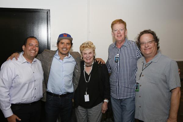 Doug Edley, John Leguizamo, Nelle Nugent, Kenneth Teaton and Randall H. Kamay Photo