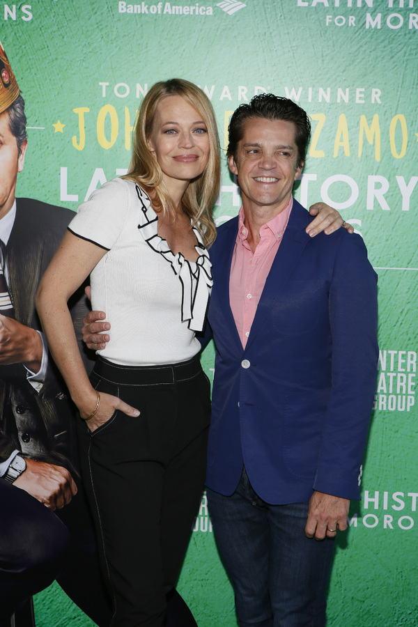 Jeri Ryan and Jonathan Del Arco Photo
