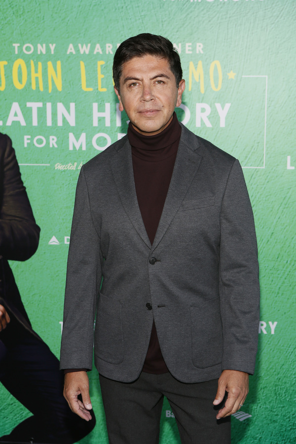 "Actor Alex Castillo attends the opening night performance of �""Latin History for Photo"