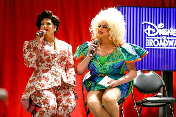 Photo Flash: Inside Disney on Broadway's Panel at DragCon, Featuring Alyssa Fox, Noah J. Ricketts,and More!