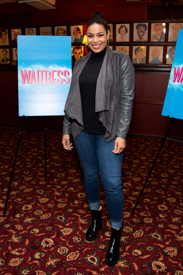 Photo Coverage: Jordin Sparks Gets Ready to Return to Broadway in WAITRESS