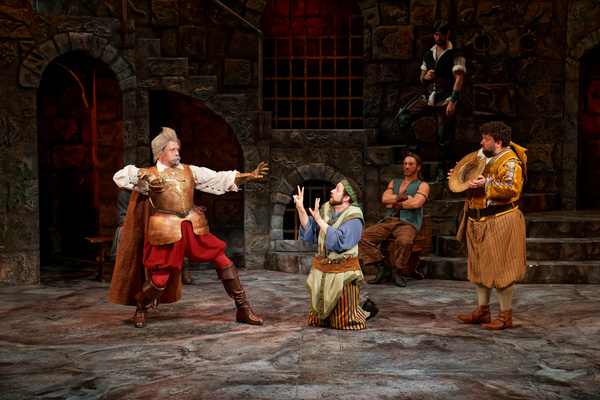 MAN OF LA MANCHA: Ryan Cooper, Sean Jones, Patrick John Moran, James Patterson, Nic T Photo