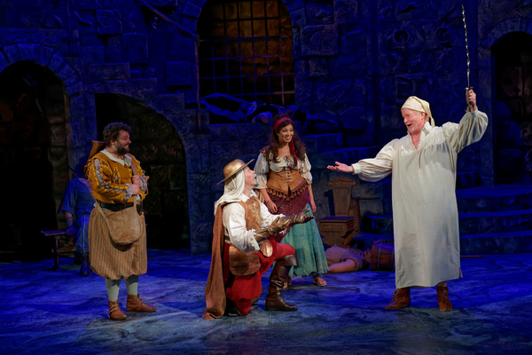MAN OF LA MANCHA: Steve Isom, Patrick John Moran, James Patterson, Amanda Robles Photo
