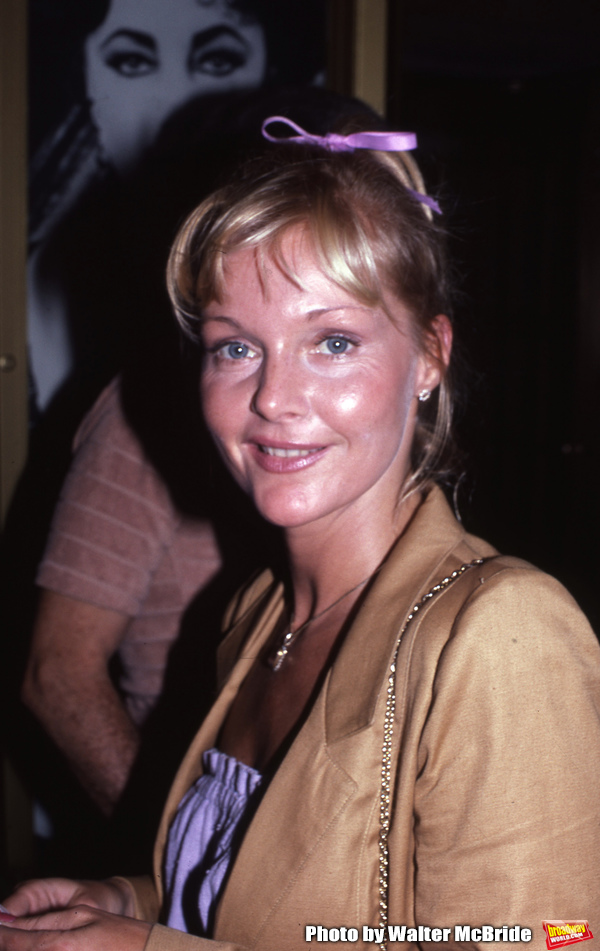 "Carol Lynley attends a performance of �""The Little Foxes"" at the Martin Be Photo"