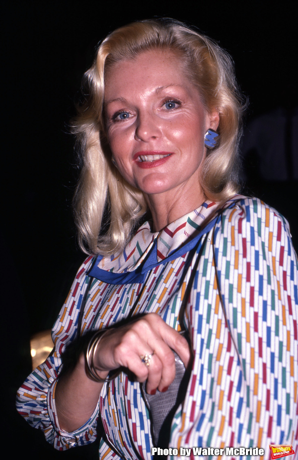 Carol Lynley on September 1, 1986 in New York City.   Photo