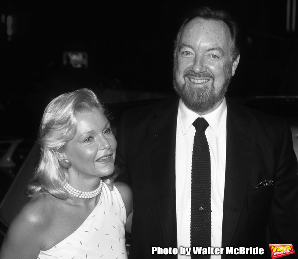 Carol Lynley and Jack Haley Jr. on September 1, 1985 in New York City.   Photo