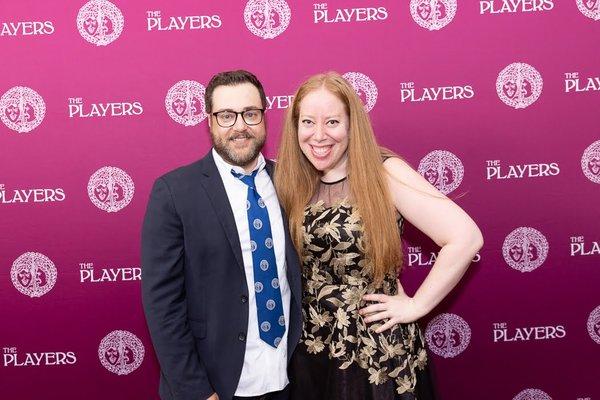 Michael Barra and Jennifer Ashley Tepper
