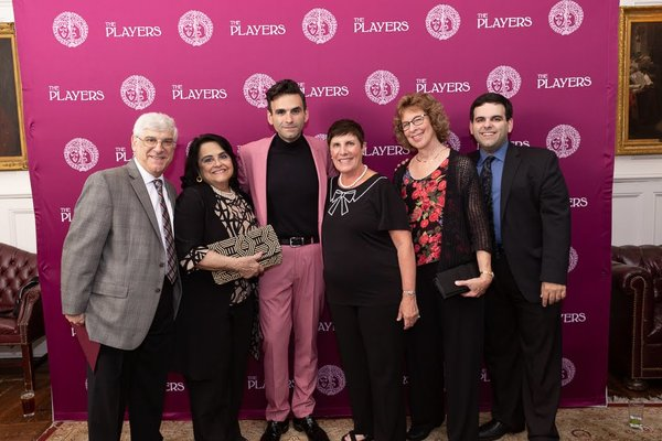 Photo Flash: BE MORE CHILL Composer Joe Iconis Honored At The Players