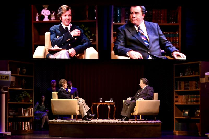 BWW Review: Marsh and Brown razzle dazzle us at Lyric Theatre of Oklahoma as FROST/NIXON hits eerily close to home