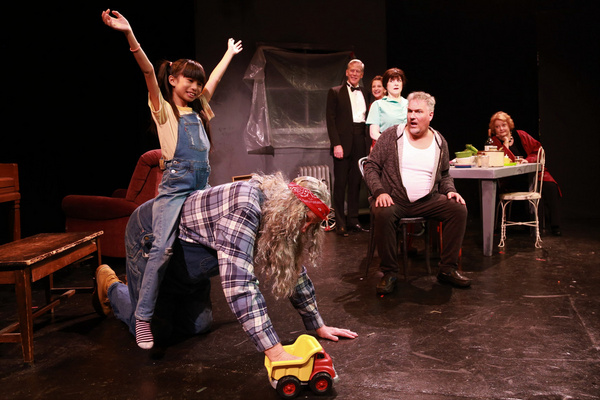 Photo Flash: First Look at DINING WITH PLOETZ At Theater For The New City
