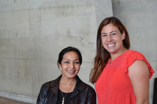 Director Seema Sueko and playwright Sharyn Rothstein Photo