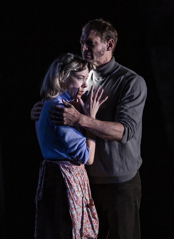 Catrina Aaron and Jack Sandle