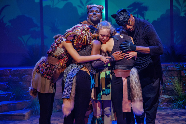 Photo Flash: First Look at ZACH Theatre's JUNGALBOOK