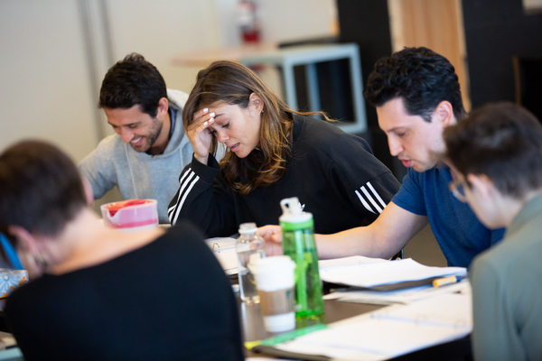 Photo Flash: In Rehearsal with LCT3's POWER STRIP