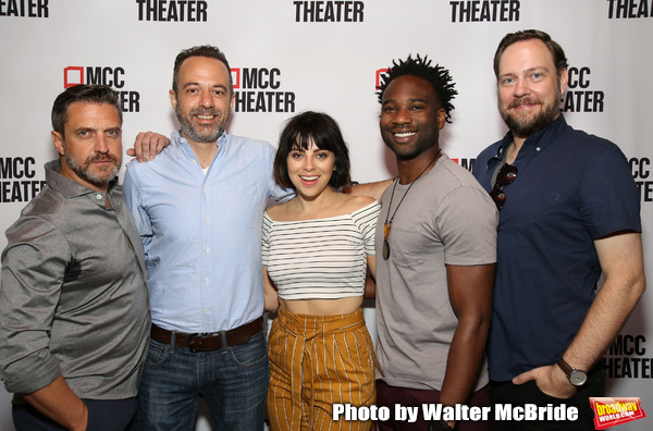 FREEZE FRAME: Meet the Cast of MCC's SEARED!