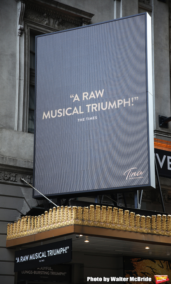 Up on the Marquee: TINA: THE TINA TURNER MUSICAL Arrives on Broadway