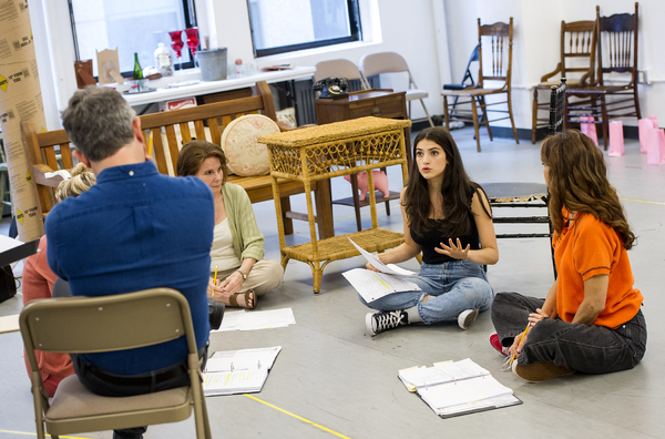 Photo Flash: In Rehearsal with Marissa Tomei and the Cast of THE ROSE TATTOO