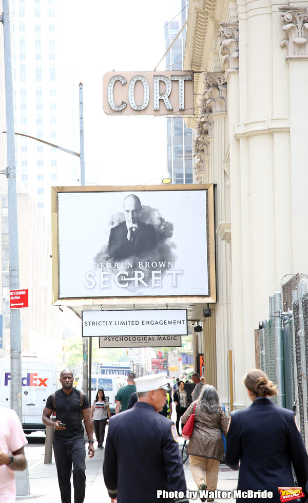 Up On The Marquee: DERREN BROWN: SECRET Brings its Magic to Broadway