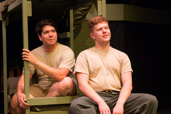 Aaron Mohs-hale (Carney) And Drew Bates (Eugene)