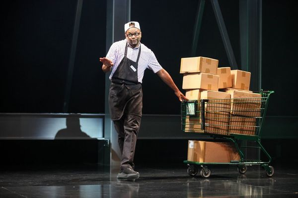 "Forrest McClendon (Depression) in the world premiere of ""Thoughts of a Colored Man"" a Photo"