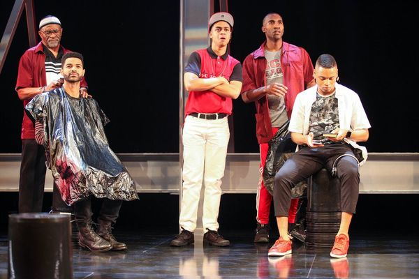 Photo Flash: First Look at THOUGHTS OF A COLORED MAN at Syracuse Stage