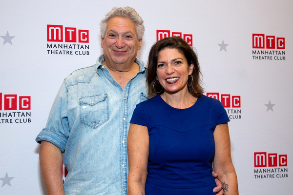 Photo Coverage: BELLA BELLA's Harvey Fierstein and Kimberly Senior Meet the Press