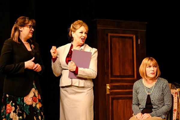 Brenda (Anne Marie Rutt), Marie (Jen Aylsworth) & Annie (Dayna Childs) Photo