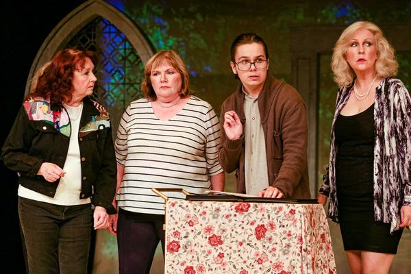 Jessie (Sharry O'Hare), Cora (Karen Christensen), Lawrence (Tristin Nelson) & Celia (Carrie Sleeper-Bowers)