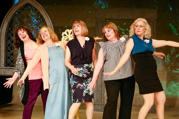 Jessie (Sharry O'Hare), Ruth (Dawn Brazel), Annie (Dayna Childs), Cora (Karen Christensen) & Celia (Carrie Sleeper-Bowers)
