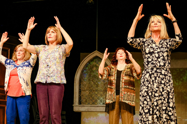 Ruth (Dawn Brazel), Annie (Dayna Childs), Jessie (Sharry O'Hare), Chris (Shannon Mahan)