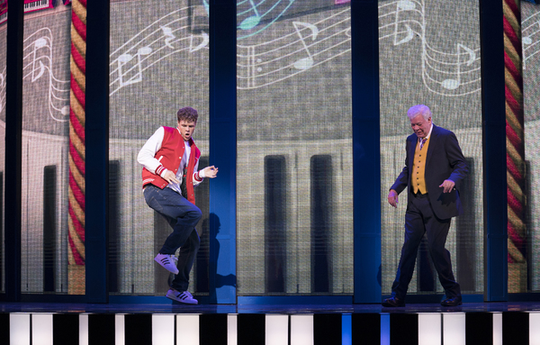 Jay McGuiness and Matthew Kelly