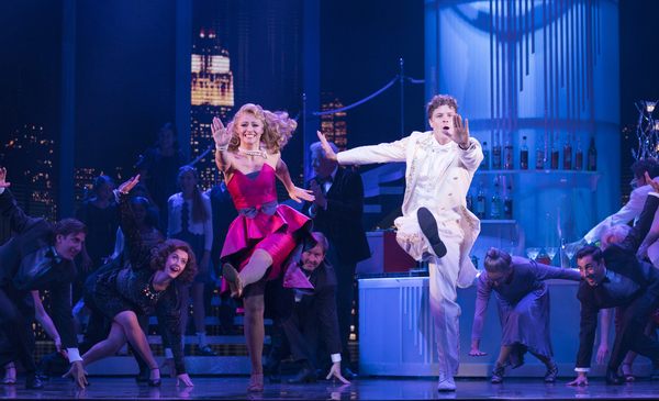 Kimberley Walsh, Jay McGuiness, and cast