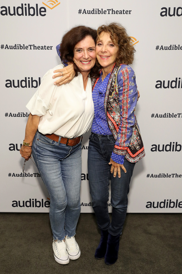 Margaret Trudeau and Andrea Martin