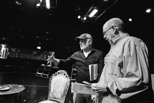 Photo Flash: In Rehearsal with Chicago Shakes' THE KING'S SPEECH
