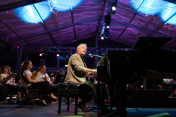 Photo Flash: Megan Hilty, Norm Lewis, and More Celebrate Alan Menken and THE REACH