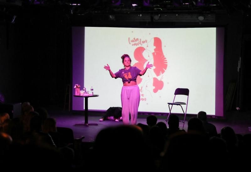 BWW Review: Luisa Omielan Will Make You Laugh and Cry in Her American Debut GOD IS A WOMAN