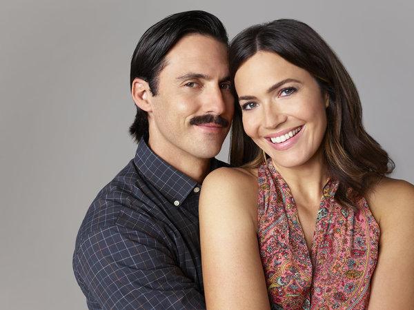 Milo Ventimiglia as Jack Pearson, Mandy Moore as Rebecca Photo
