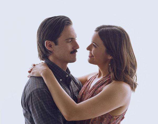 Milo Ventimiglia as Jack Pearson, Mandy Moore as Rebecca