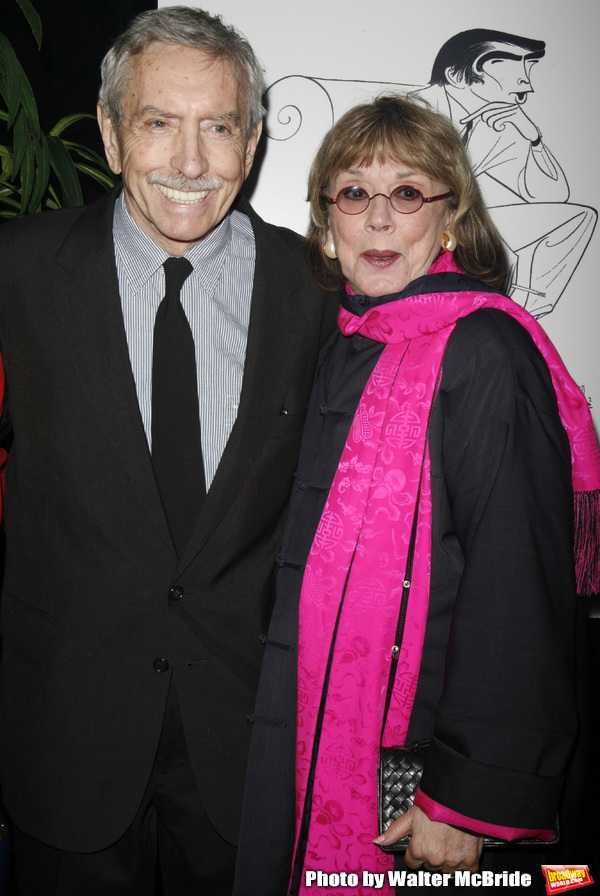 Edward Albee & Phyllis Newman attending the New Dramatists 58th Annual Spring Luncheo Photo