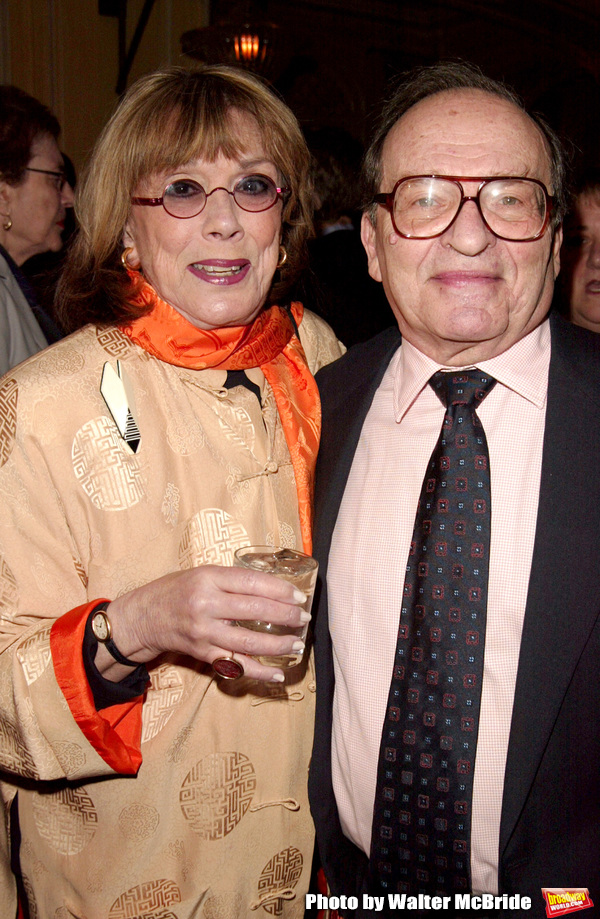 Sidney Lumet and Phyllis Newman.Attending a New York celebration in anticipation of director Sidney Lumet's Honorary Academy Award, which will be presented at the upcoming 77th Annual Academy Awards at Arabelle at the Plaza Athenee in New York City.