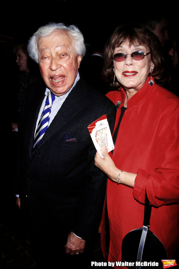 """Adolf Green and Phyllis Newman attend the Opening Night of """"Thoroughly Modern Millie"""" Photo"""