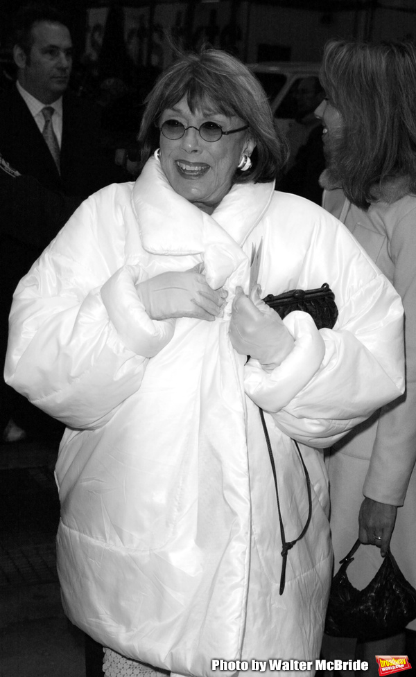 Phyllis Newman Attending the Opening Night Performance of ALL SHOOK UP at the Palace  Photo