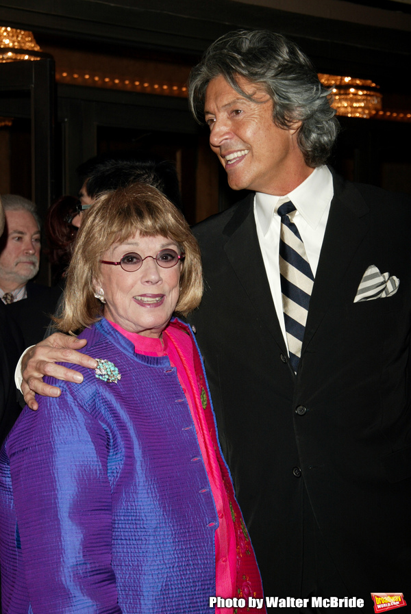 Phyllis Newman and Tommy Tune attending the Opening Night of the Broadway Musical Lan Photo
