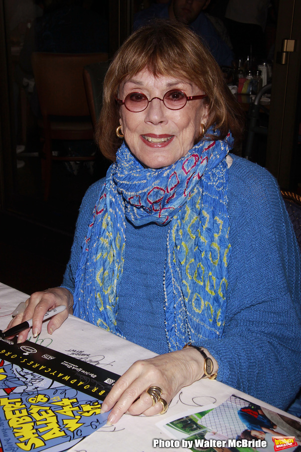 Phyllis Newman attending The 24th Annual Broadway Cares/Equity Fights AIDS Flea Marke Photo