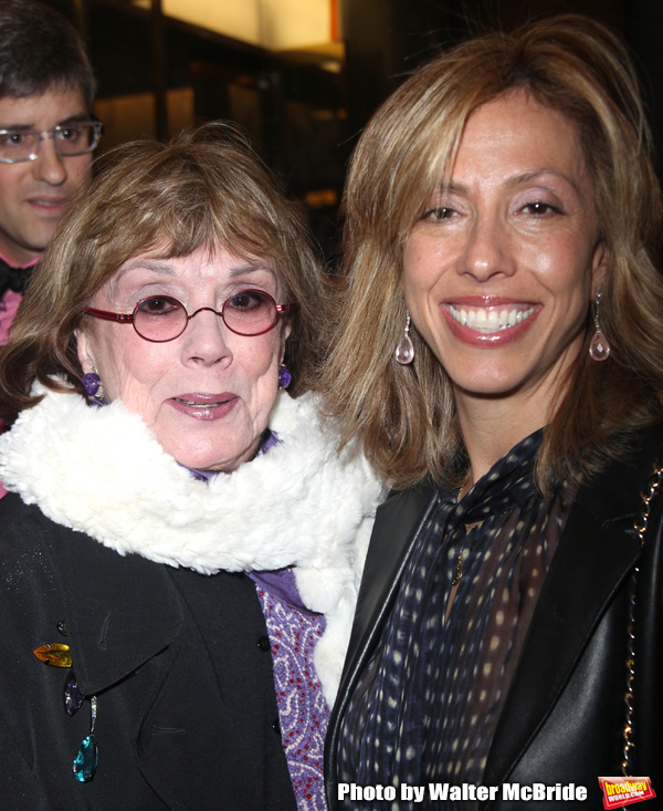 Phyllis Newman & Amanda Green attending the Broadway Opening Night Revival Performance of PROMISES,PROMISES at the Broadway Theatre in New York City. April 26, 2010