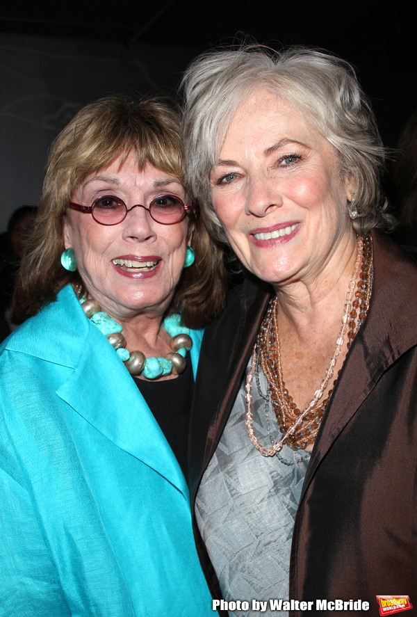 Phyllis Newman & Betty Buckley attending the NOTHING LIKE A DAME Benfit Evening at th Photo